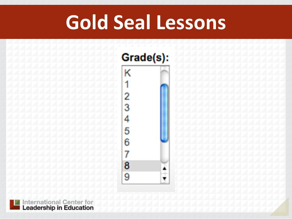 Gold Seal Lessons 146