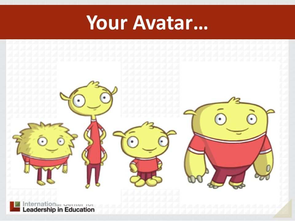 Your Avatar…