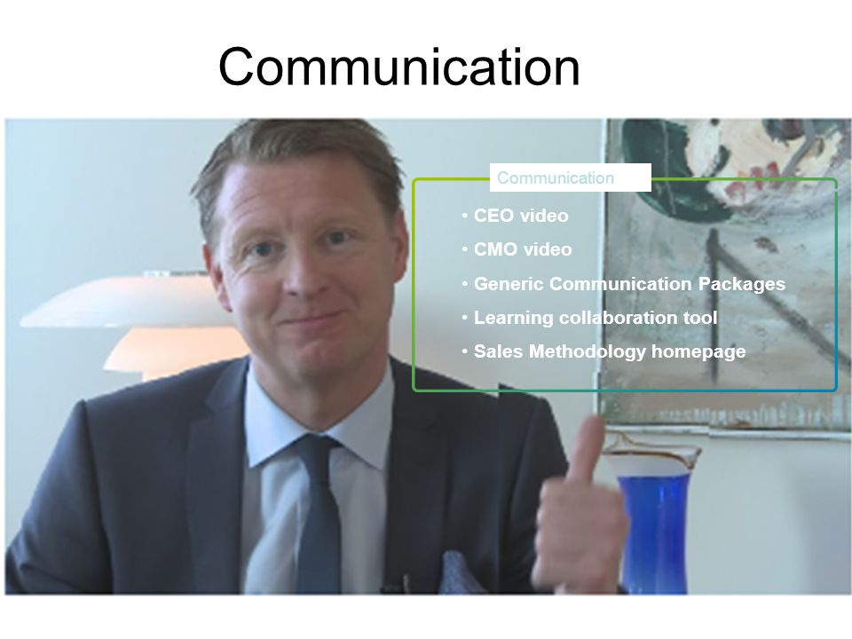Communication CEO video CMO video Generic Communication Packages