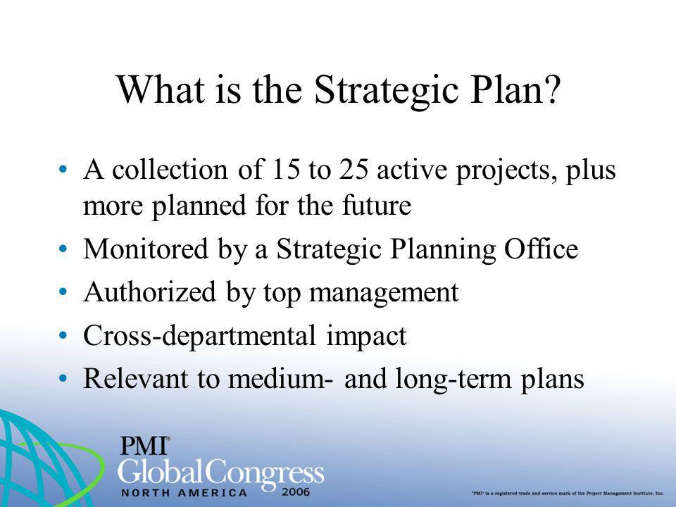 What is the Strategic Plan