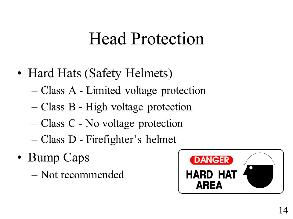Head Protection Hard Hats (Safety Helmets) Bump Caps