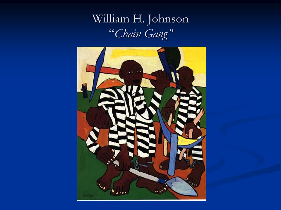 William H. Johnson Chain Gang