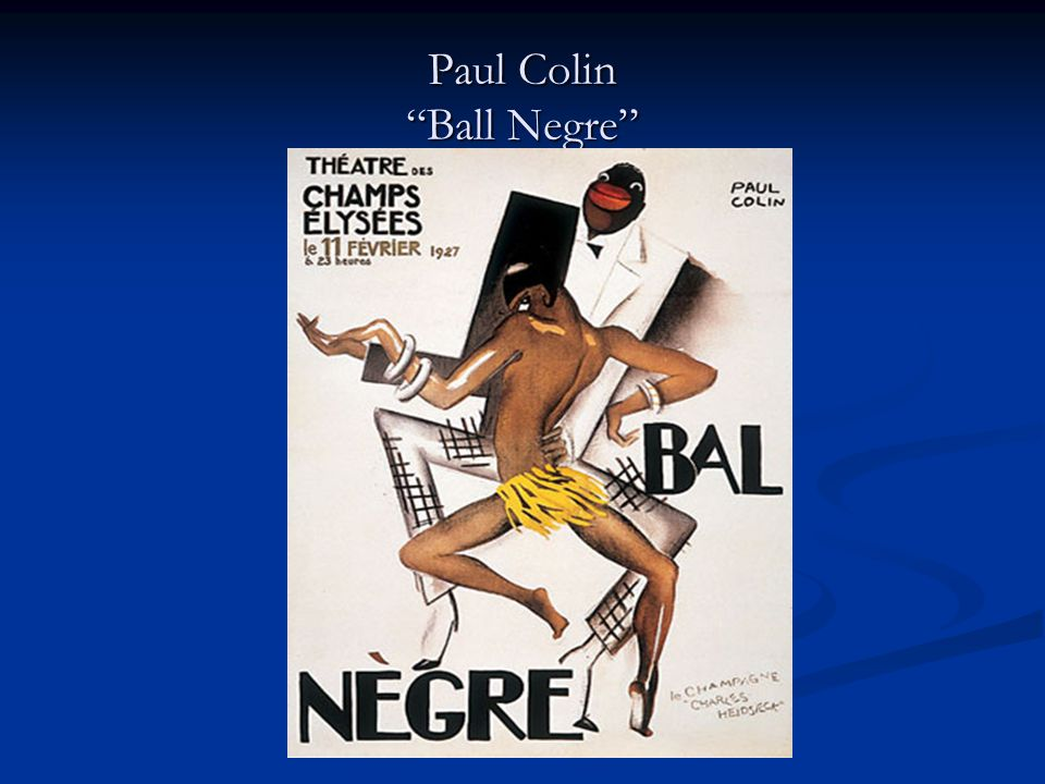Paul Colin Ball Negre