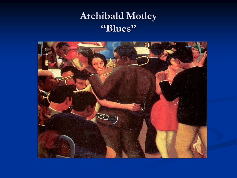Archibald Motley Blues