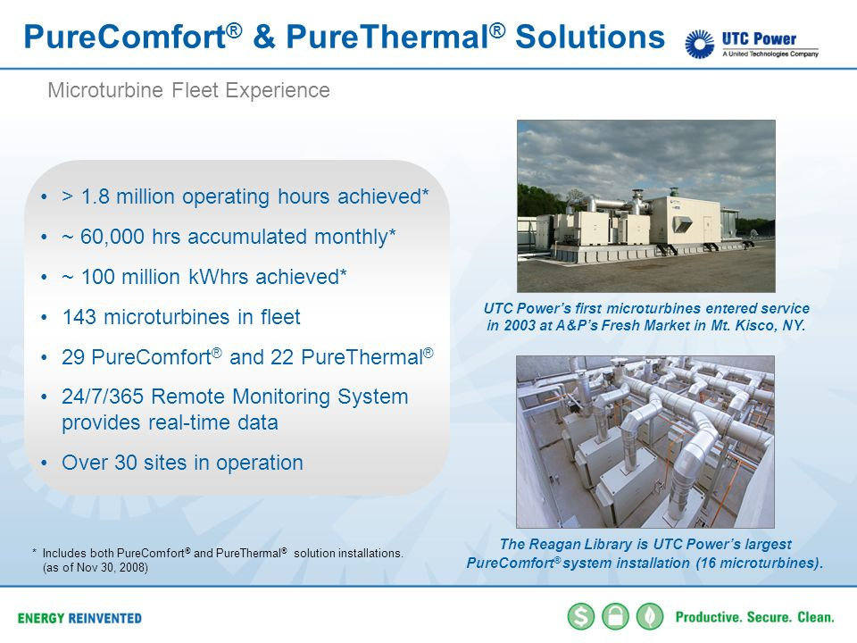 PureComfort® & PureThermal® Solutions