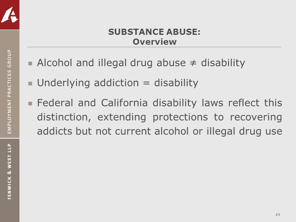 SUBSTANCE ABUSE: Overview