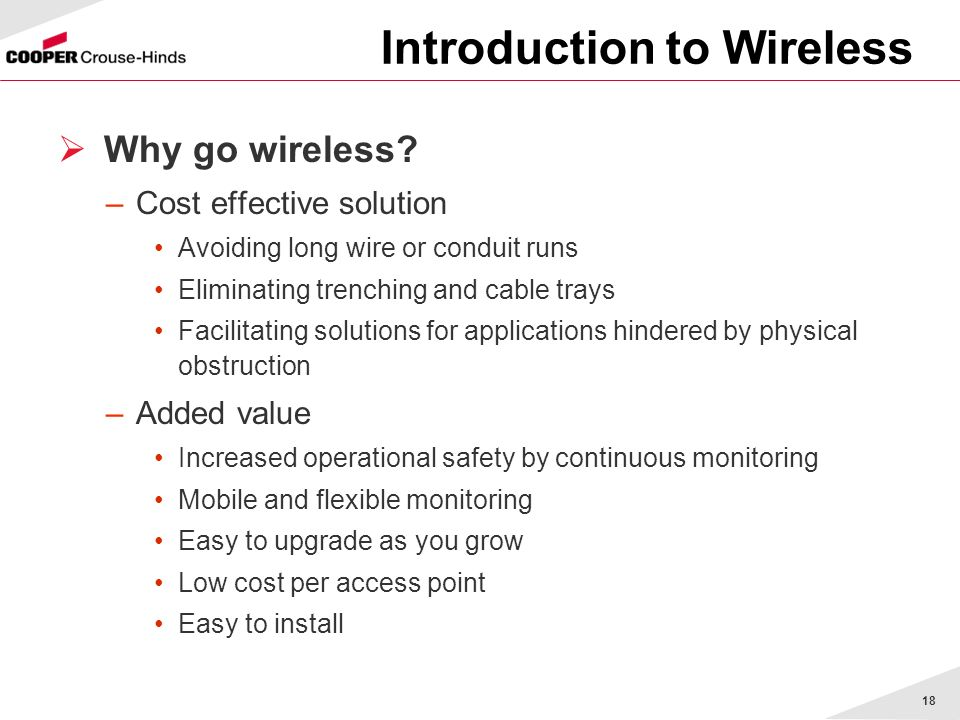 Introduction to Wireless