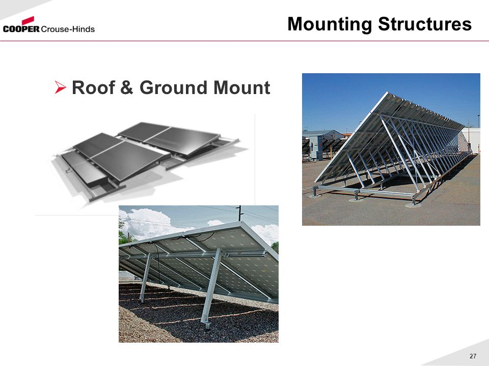 Mounting Structures Roof & Ground Mount Rapid Rac