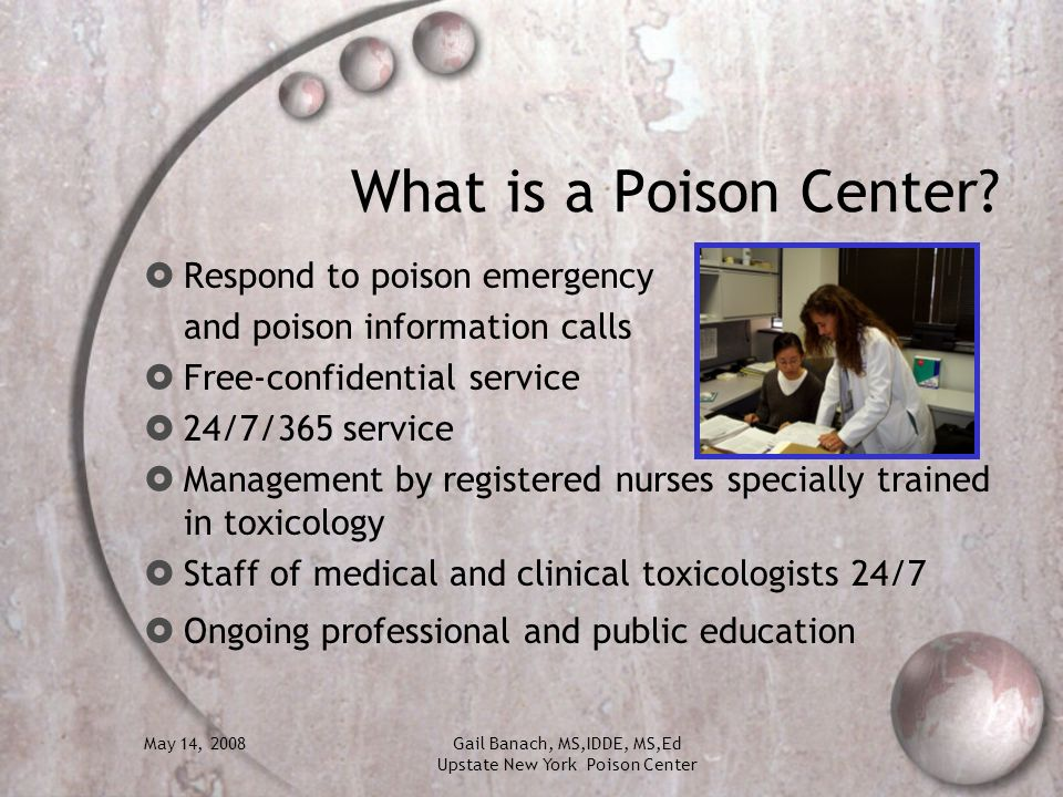 What is a Poison Center Respond to poison emergency