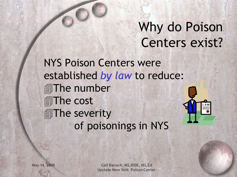Why do Poison Centers exist