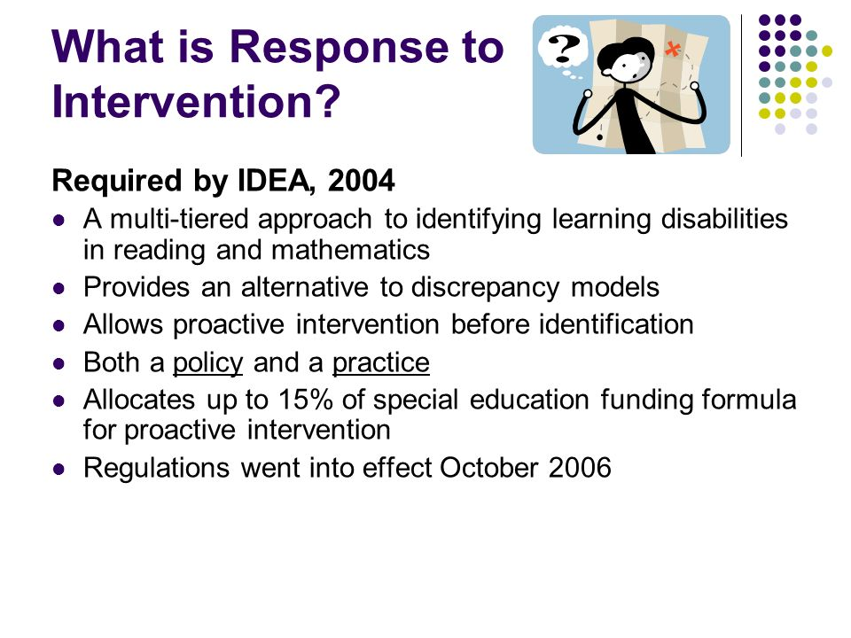 What is Response to Intervention