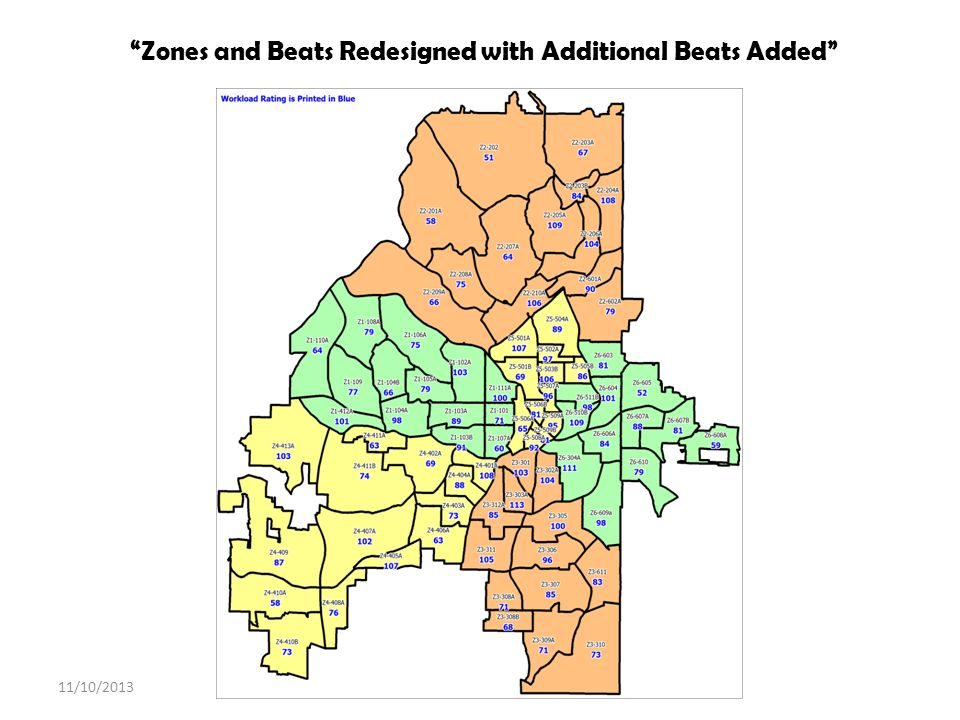 Zones and Beats Redesigned with Additional Beats Added