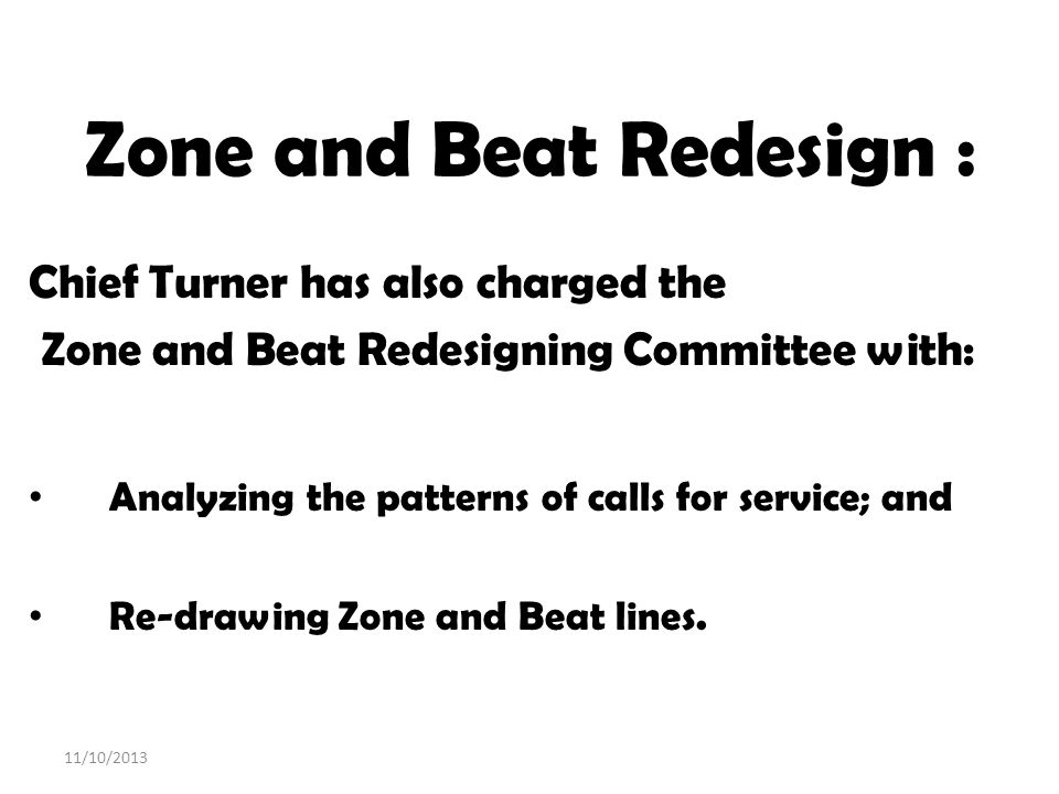 Zone and Beat Redesign :