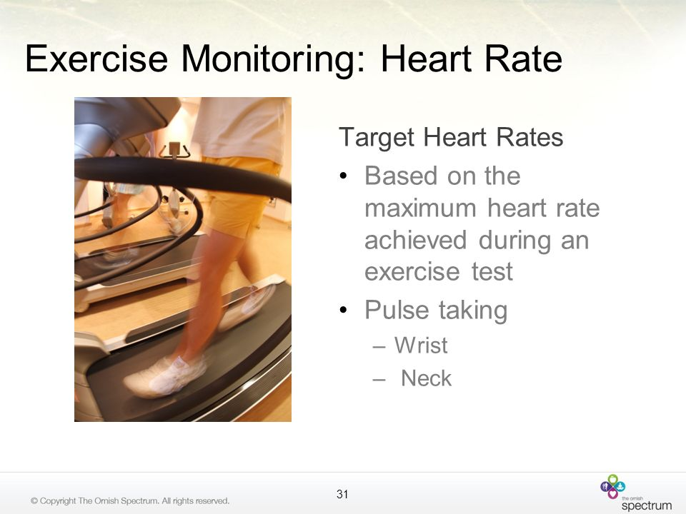 Exercise Monitoring: Heart Rate