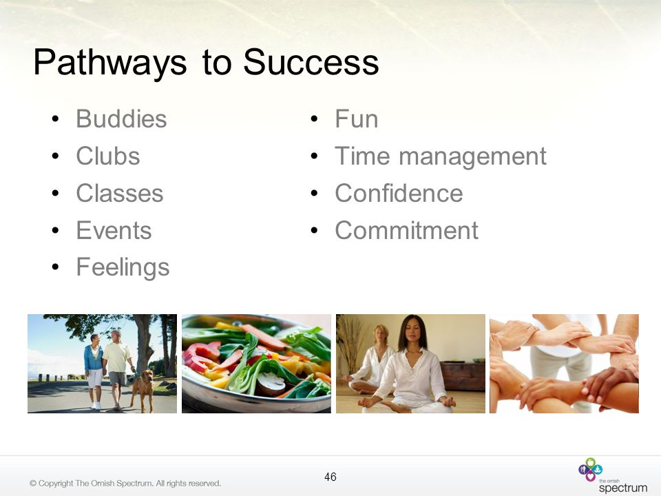 Pathways to Success Buddies Clubs Classes Events Feelings Fun