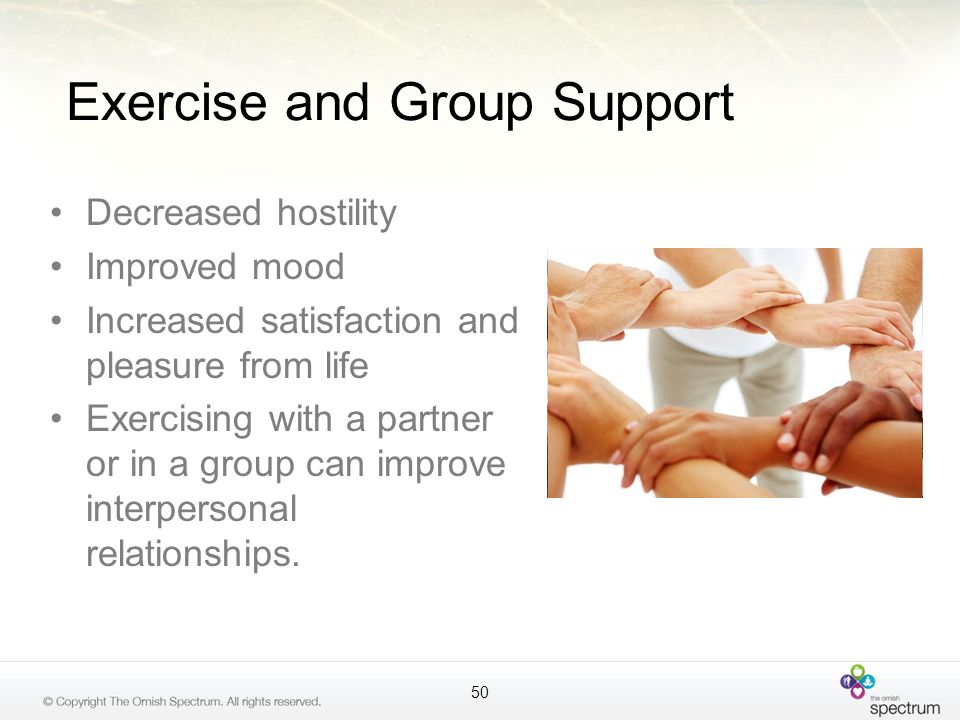 Exercise and Group Support