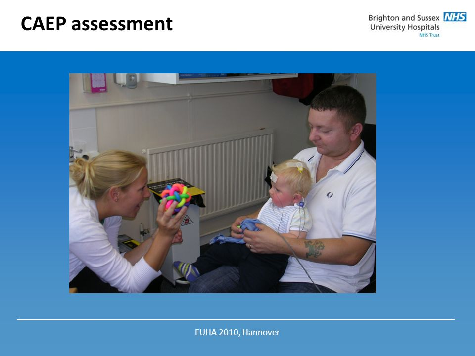 CAEP assessment EUHA 2010, Hannover