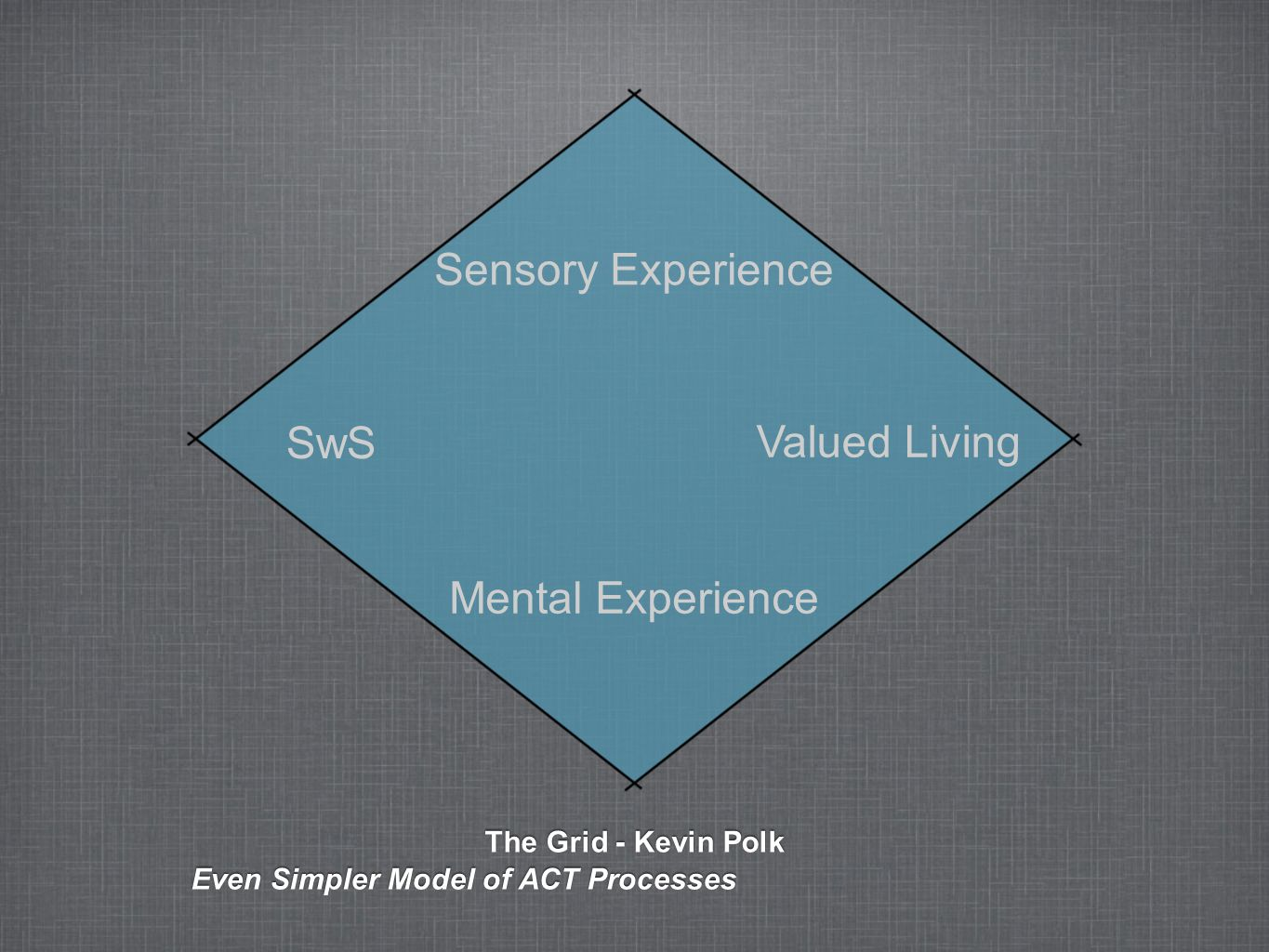 Sensory Experience SwS Valued Living Mental Experience