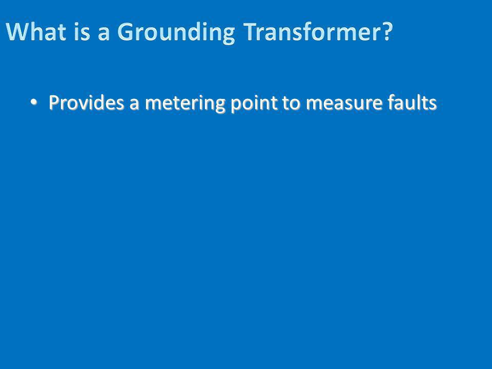 What is a Grounding Transformer