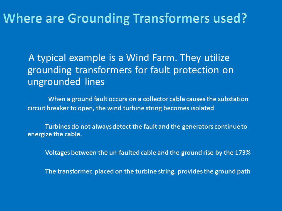 Where are Grounding Transformers used