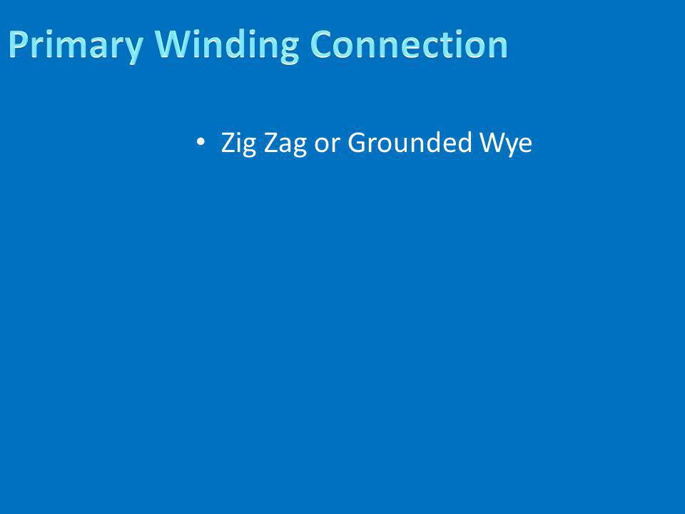 Primary Winding Connection