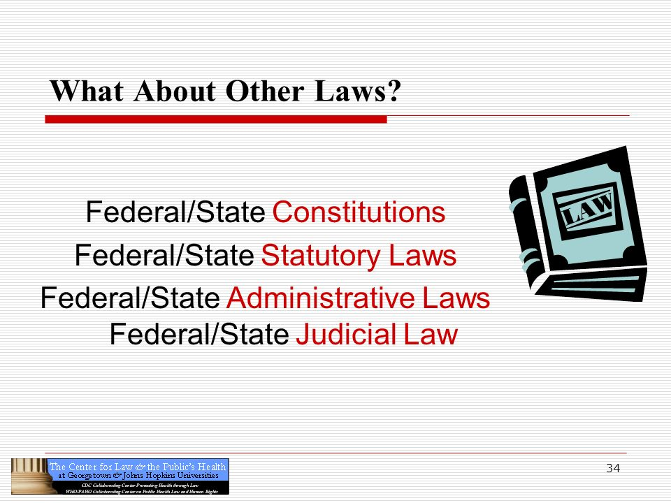 What About Other Laws Federal/State Constitutions