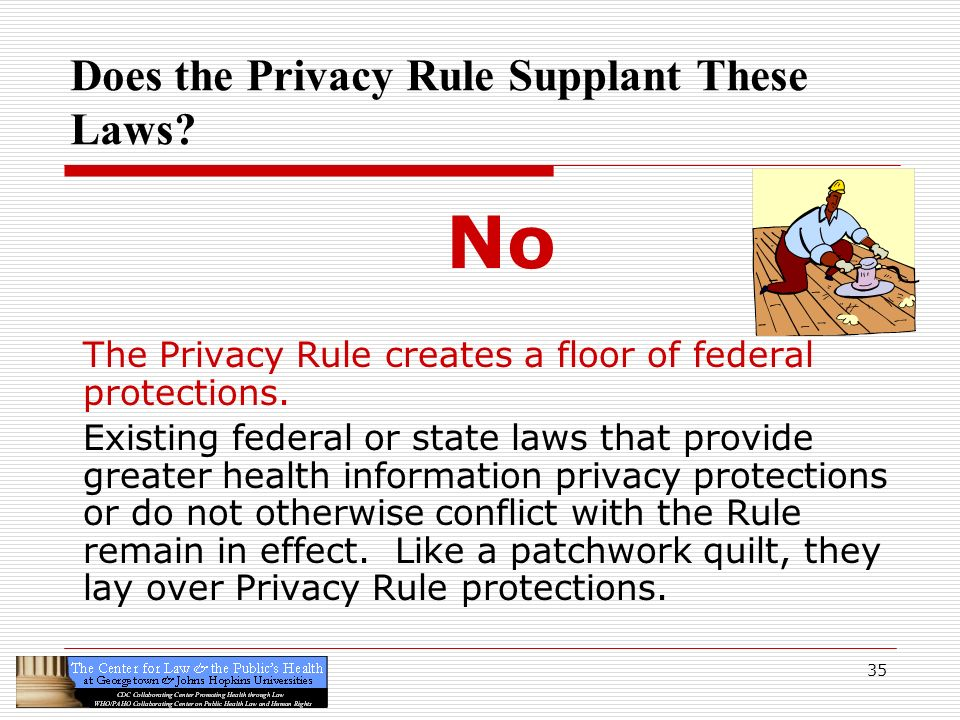 Does the Privacy Rule Supplant These Laws