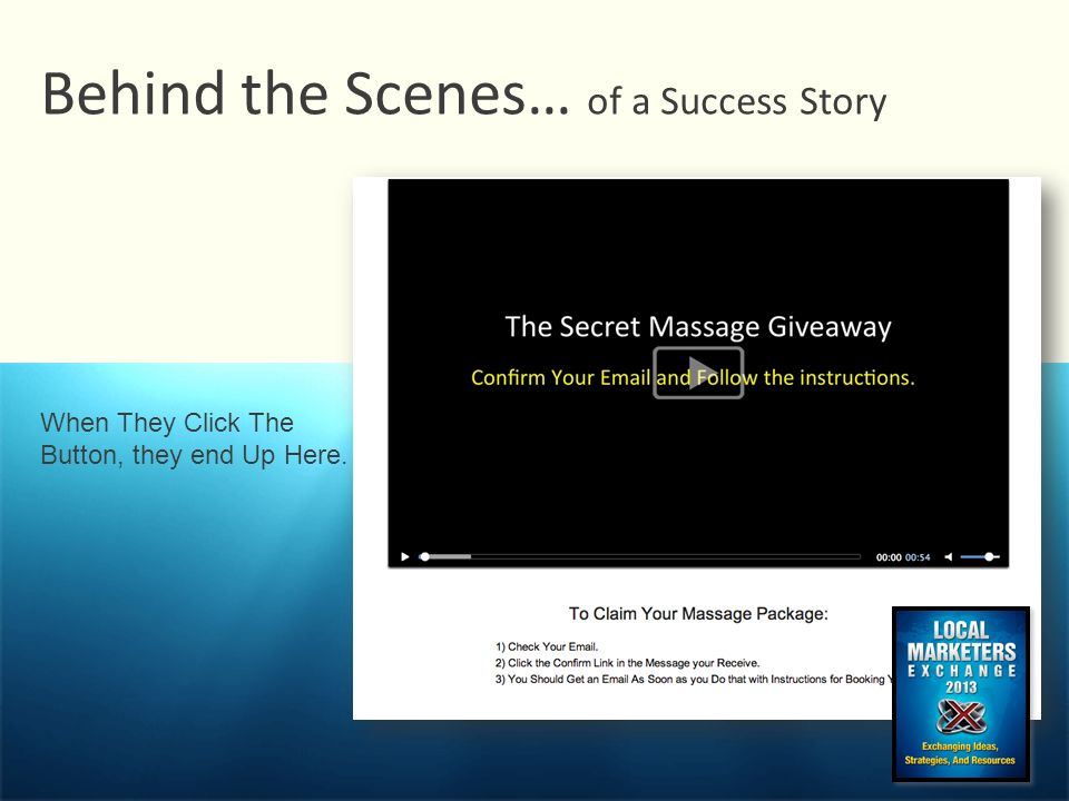 Behind the Scenes… of a Success Story