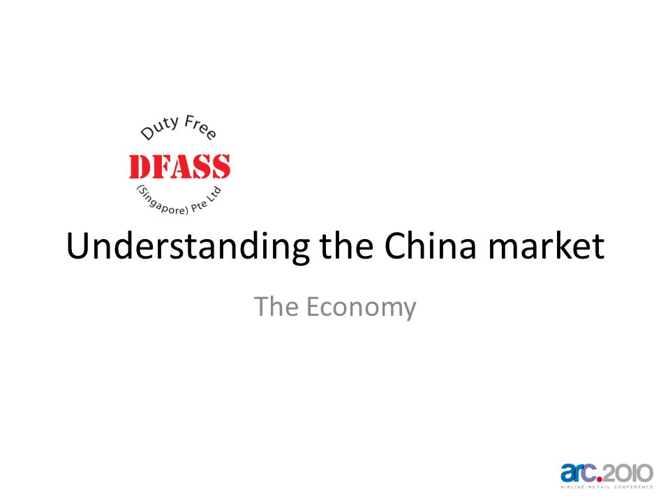 Understanding the China market