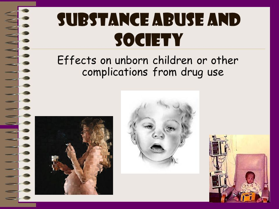 Substance abuse and society