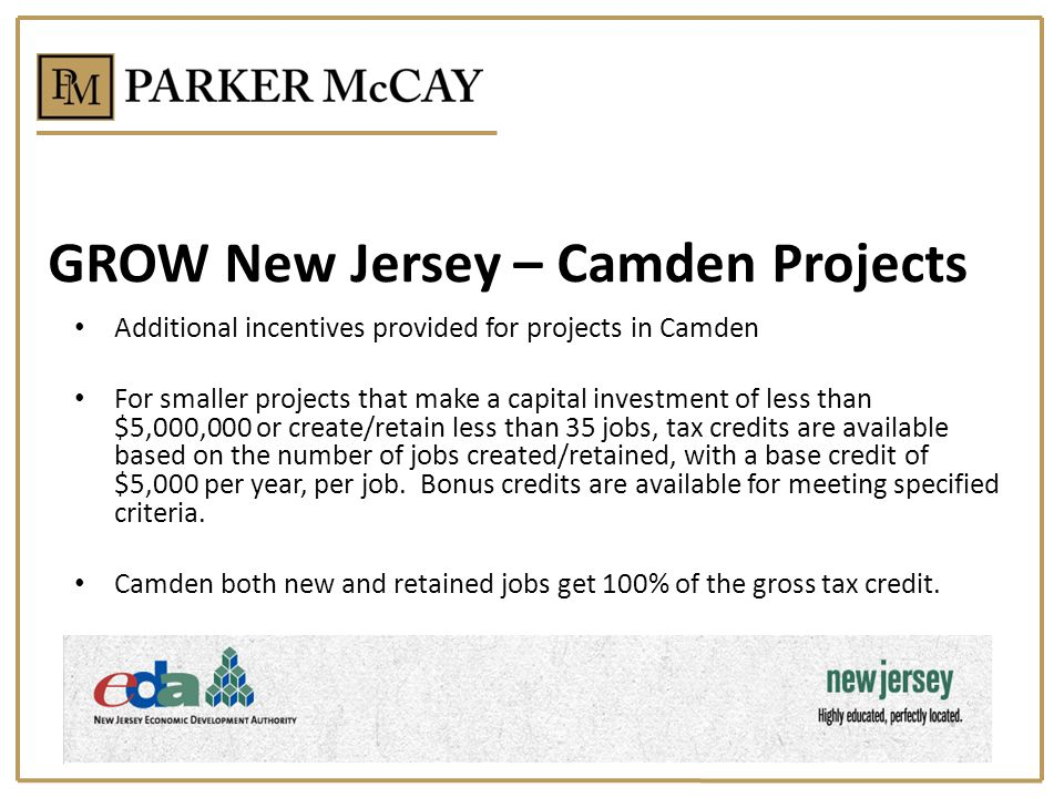 GROW New Jersey – Camden Projects