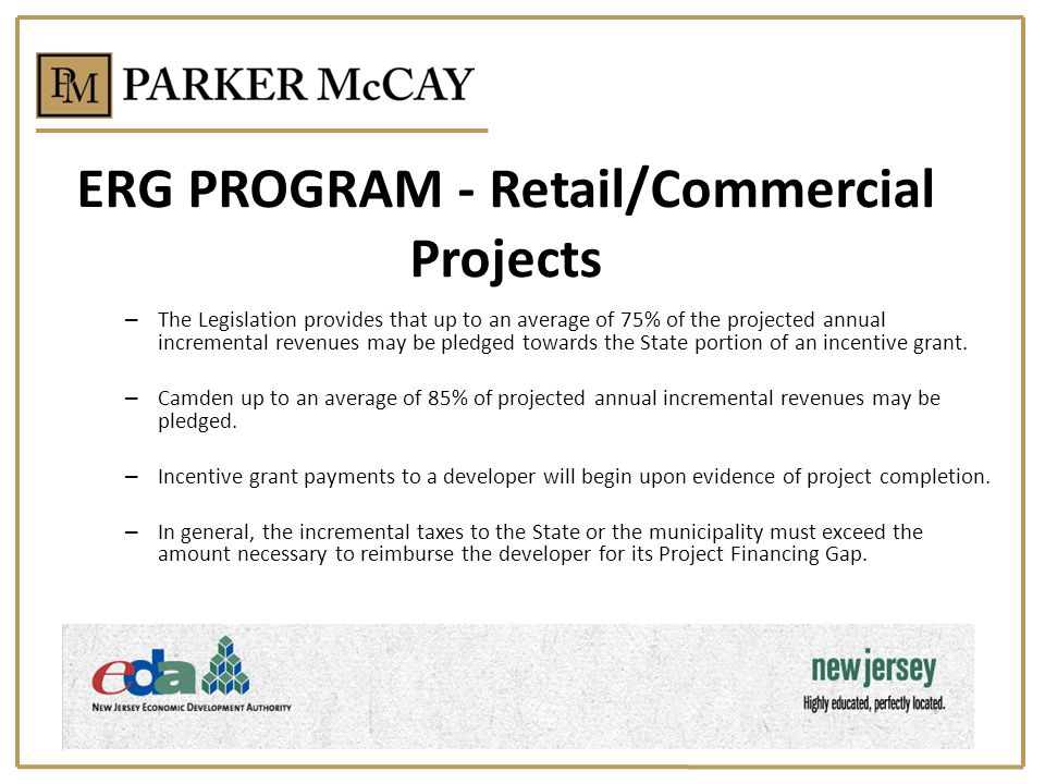 ERG PROGRAM - Retail/Commercial Projects