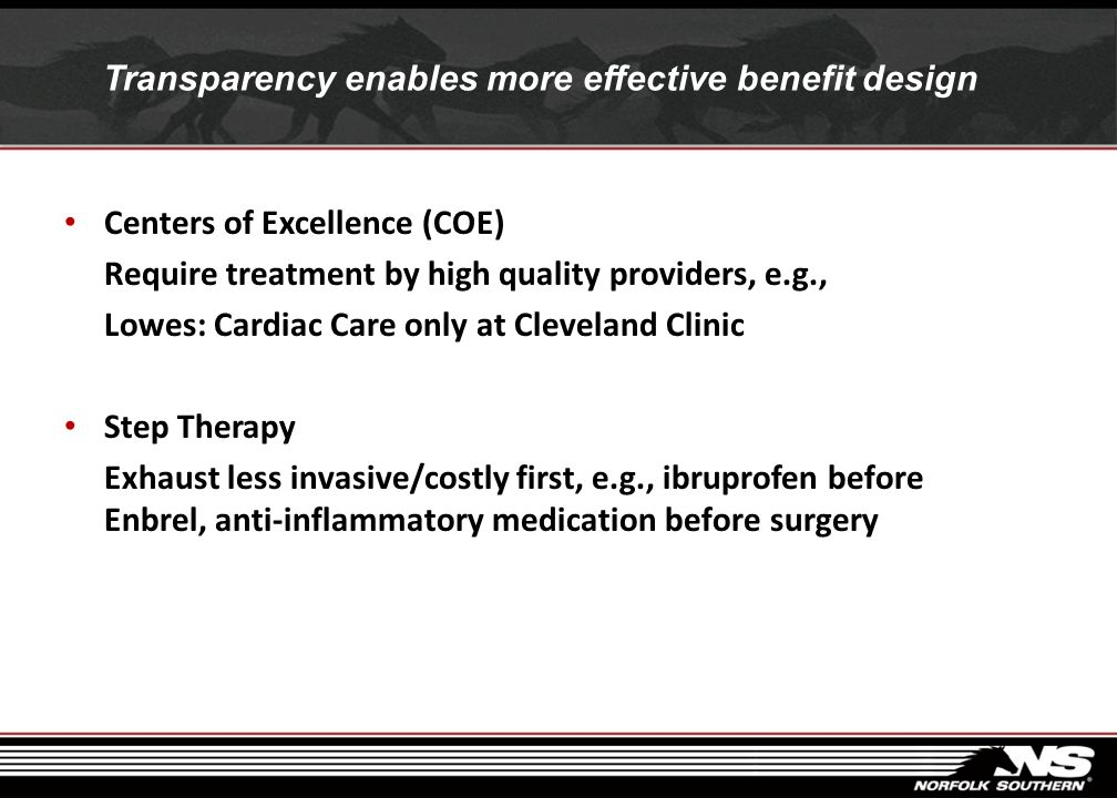 Transparency enables more effective benefit design