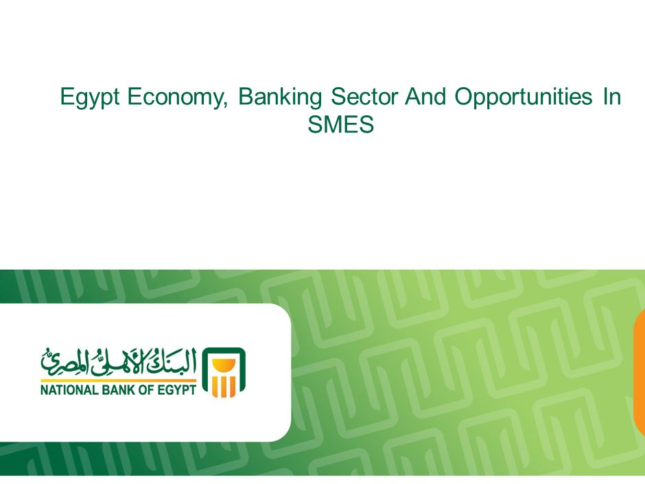 Egypt Economy, Banking Sector And Opportunities In SMES