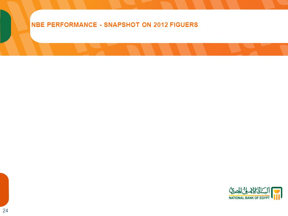 NBE PERFORMANCE - SNAPSHOT ON 2012 FIGUERS