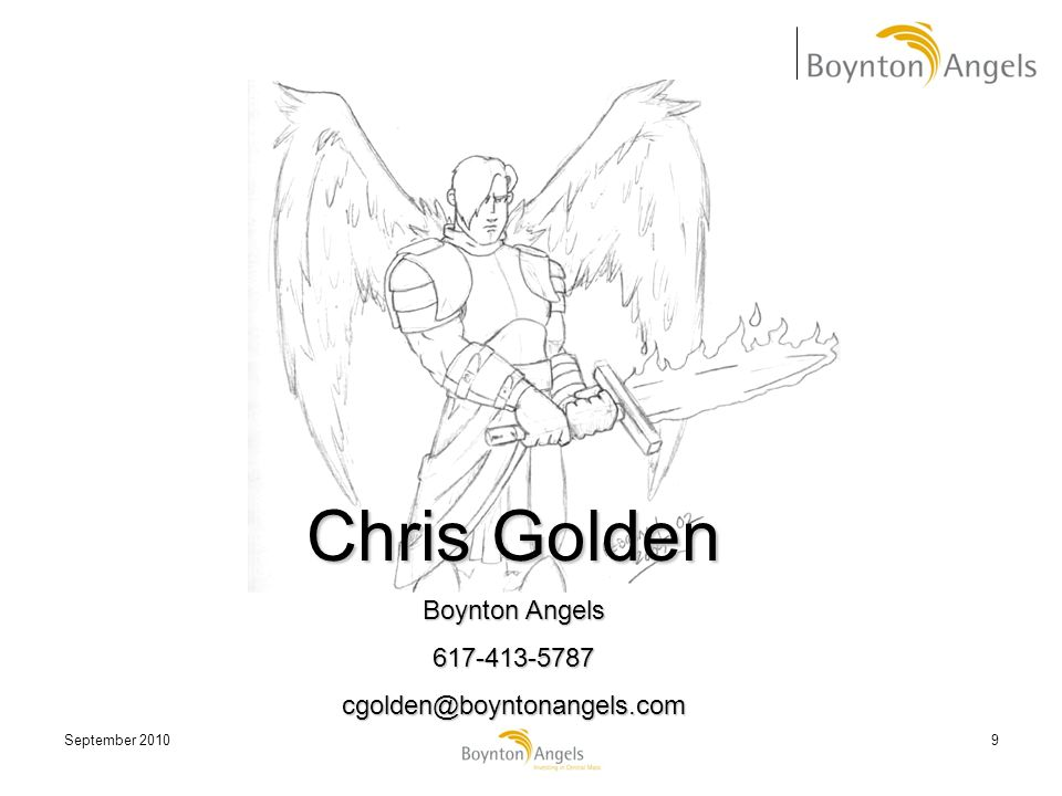 Chris Golden Boynton Angels