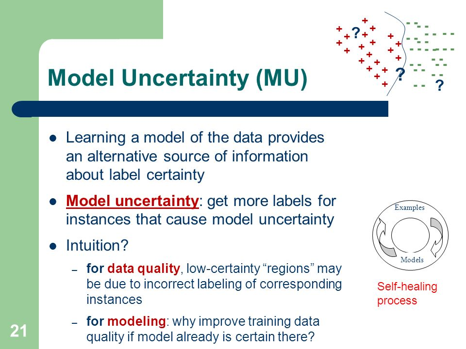 Model Uncertainty (MU)