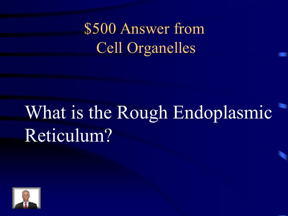 $500 Answer from Cell Organelles