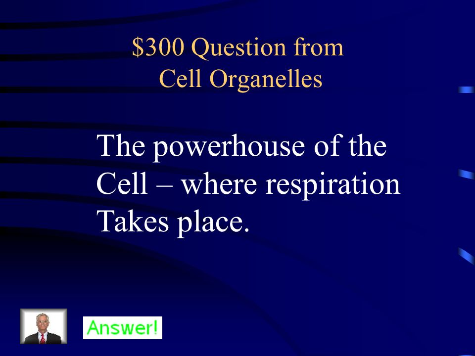 $300 Question from Cell Organelles
