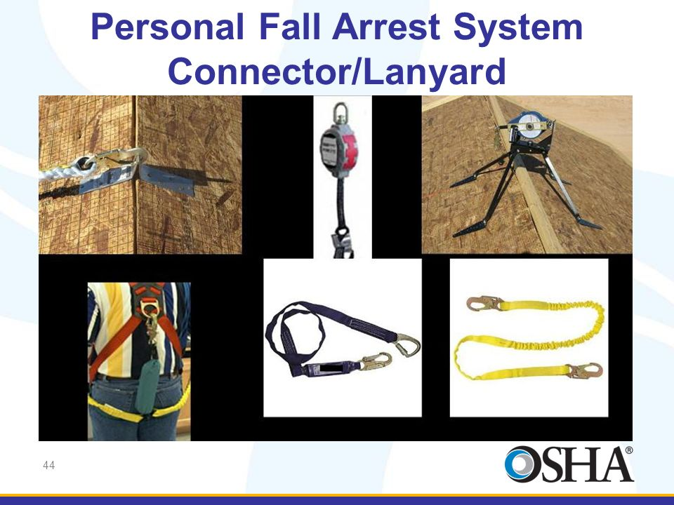 Personal Fall Arrest System Connector/Lanyard