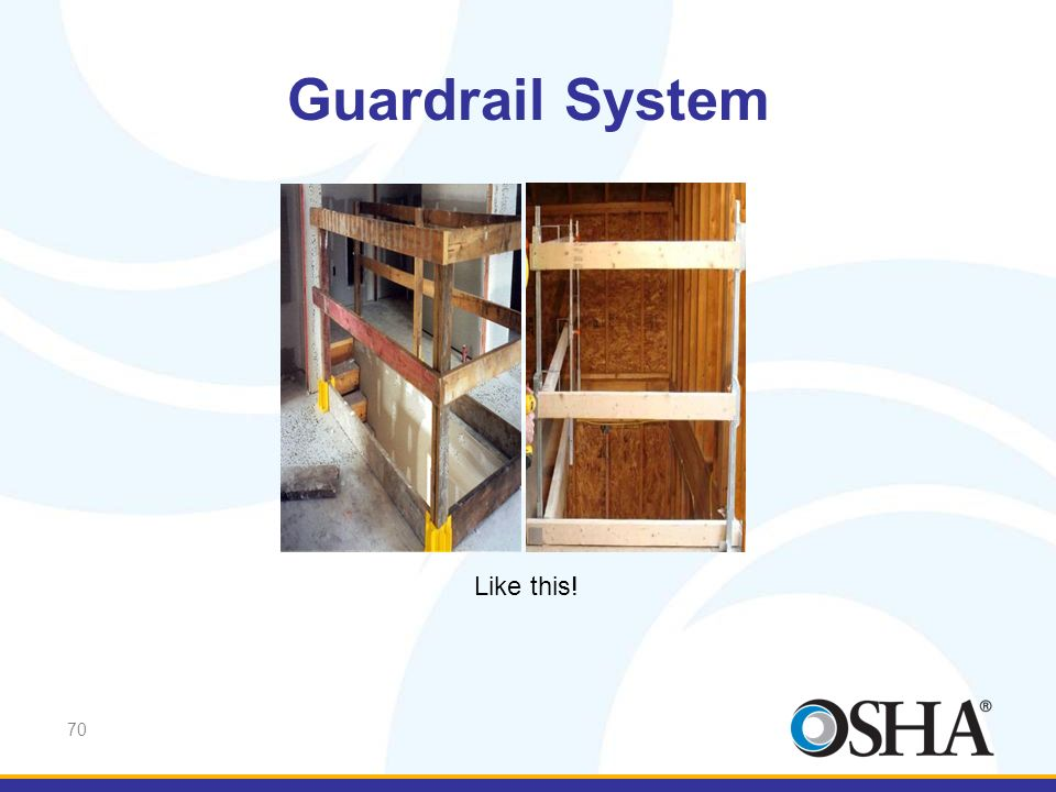 Guardrail System Like this! Like this!