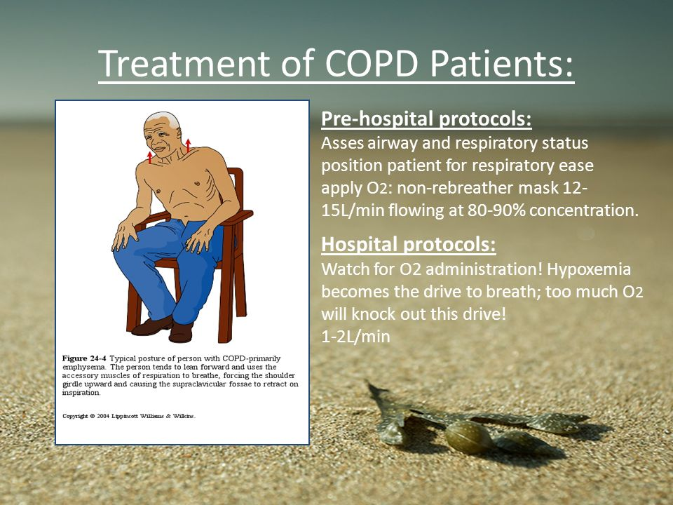 Treatment of COPD Patients: