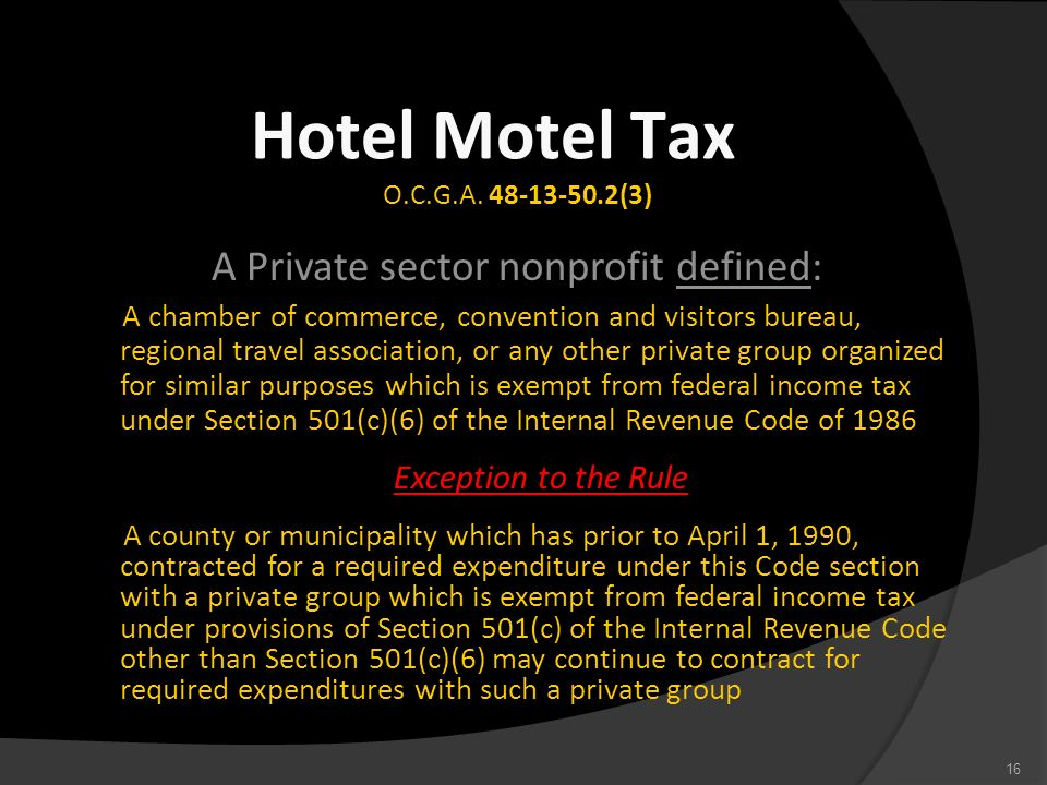 A Private sector nonprofit defined: