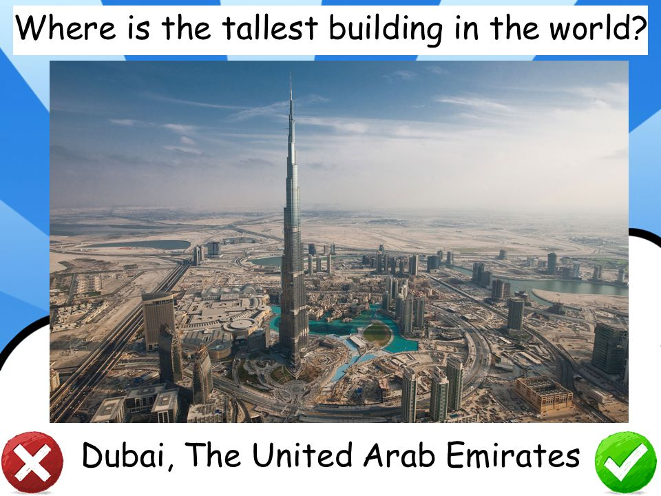 Where is the tallest building in the world