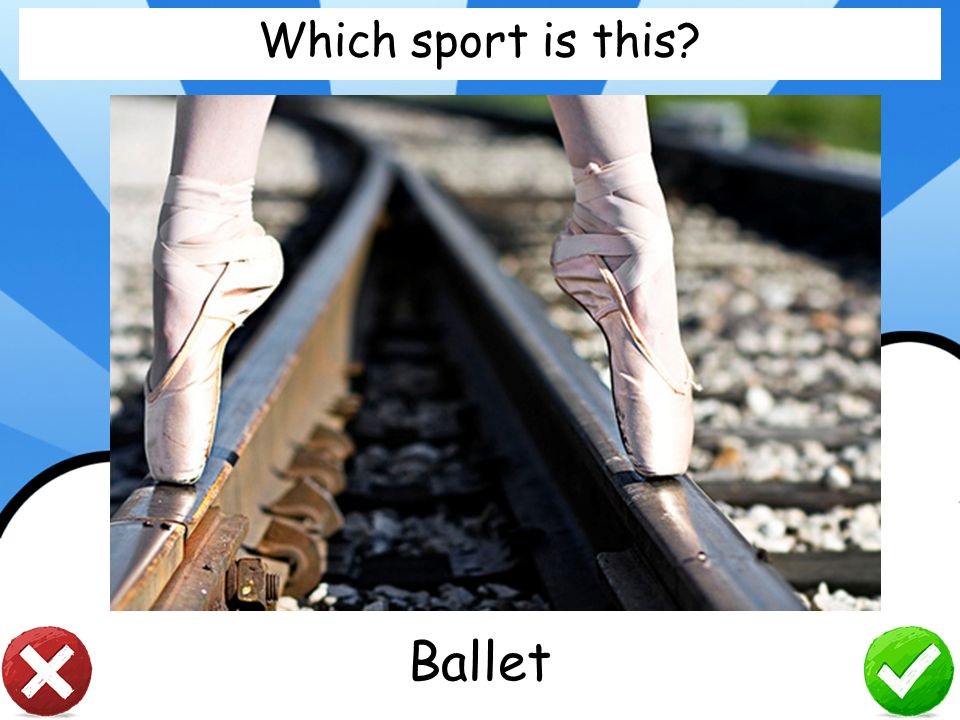 Which sport is this Ballet