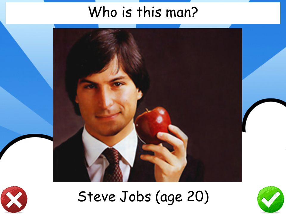 Who is this man Steve Jobs (age 20)