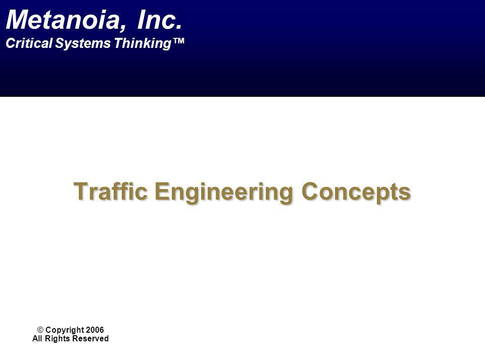Traffic Engineering Concepts
