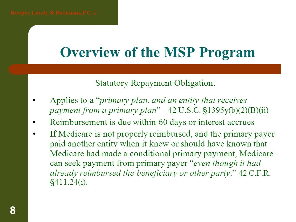 Overview of the MSP Program