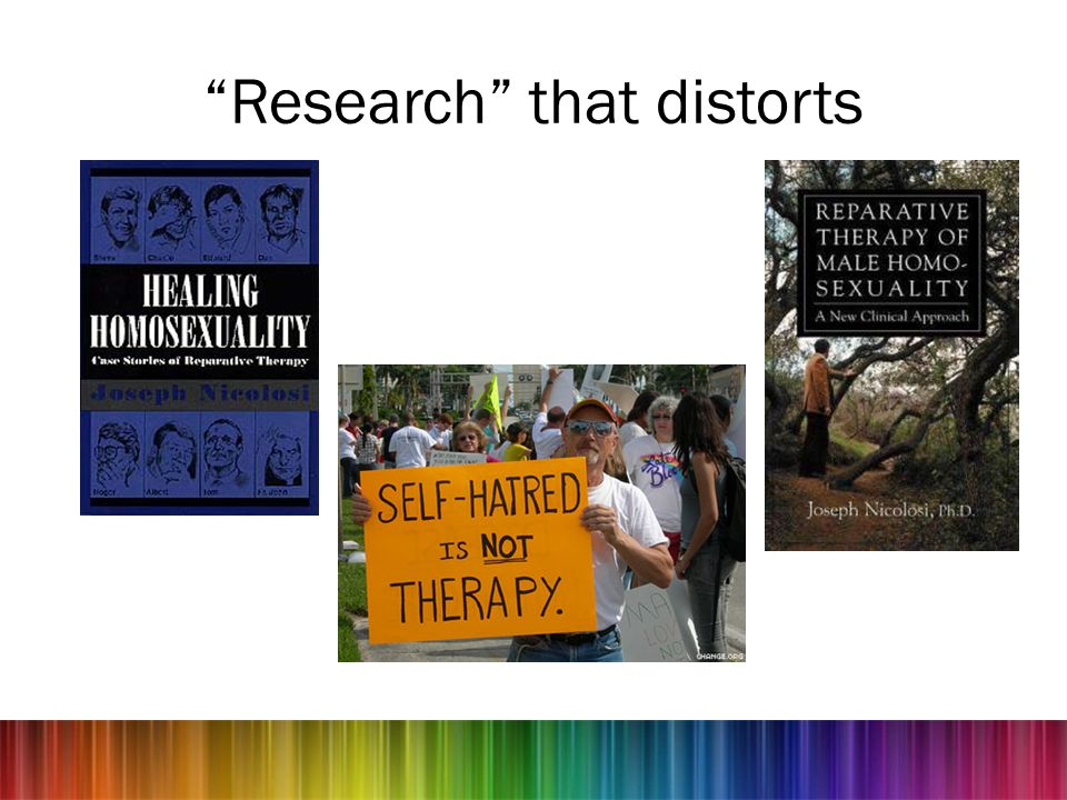 Research that distorts