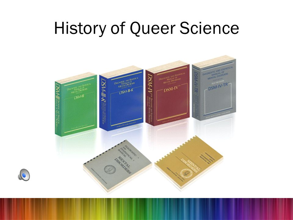 History of Queer Science